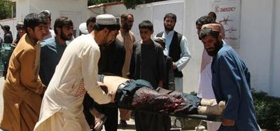Al menos 29 fallecidos en un ataque suicida en Afganistán