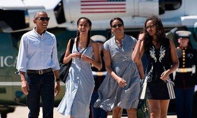 Obama y familia inician vacaciones en la isla de Bali
