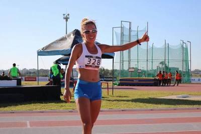Carmen Martínez obtiene logro inédito para el atletismo paraguayo