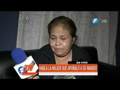 Mujer apuñaló y mató a su pareja tras una discusión