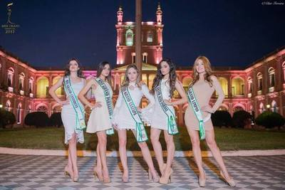 """Presentan a las candidatas oficiales para  """"Miss Grand Paraguay 2017"""""""