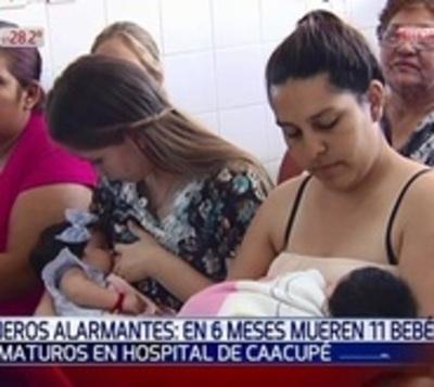 Alarmante: 11 muertes de bebés en seis meses en Hospital de Caacupé