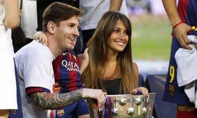 Messi sorprendió a su amigo con invitación a su boda