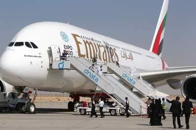 Árabes piden bajar en el país avión más grande del mundo