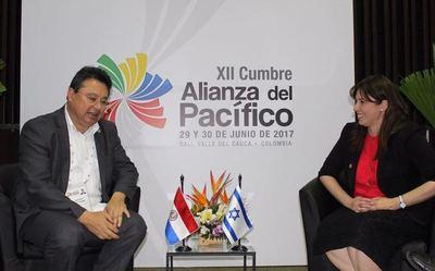 Paraguay e Israel buscan promover alianzas