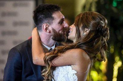 ¡Dieron el sí! Messi y Antonela se casaron
