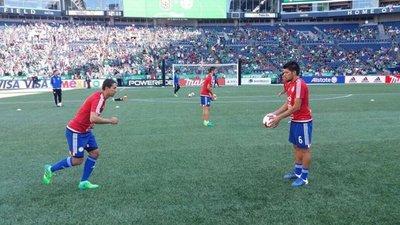 ¡Arrancó el partido de Paraguay en Seattle!