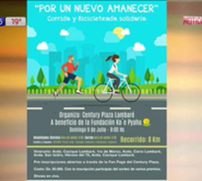Organizan corrida en Lambaré para ayudar a niños humildes