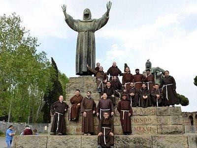 Peregrinación franciscana por América