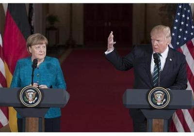 Merkel planea reunirse con Trump la víspera de la cumbre del G20