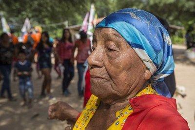 Una fiesta con los espíritus de los guaraníes