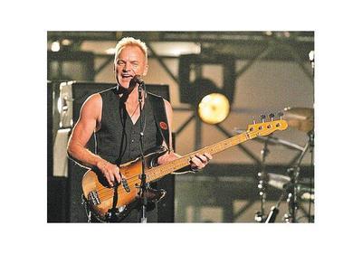 Sting  dona premio musical a refugiados
