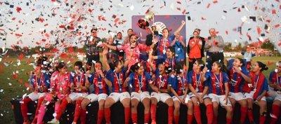 Femenino: Cerro Porteño es el flamante campeón