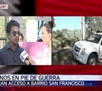 Familias denuncian que fueron excluidas por irregularidades en censo
