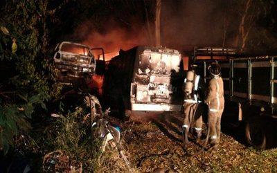 Cortocircuito ocasionó incendio en comisaría
