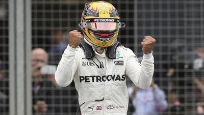 Lewis Hamilton se hace fuerte en casa