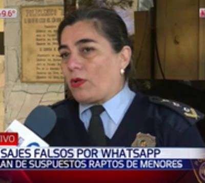 Circulan audios falsos por WhatsApp sobre raptos de niños
