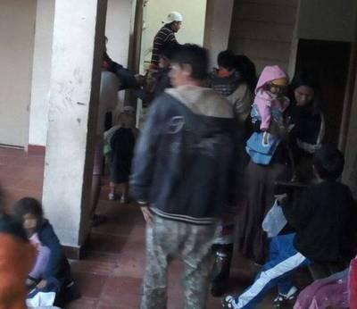 INDI abre sus puertas para que nativos no pasen frío