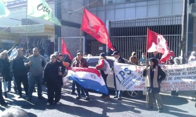 Protestan contra IPS