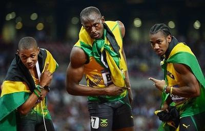 Bolt se prepara para los 100 metros lisos y el relevo 4x100 en su último Mundial