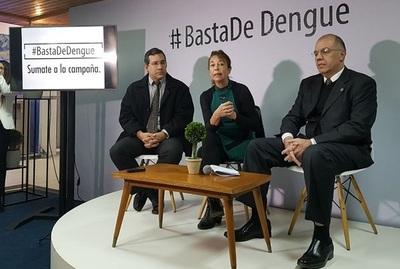 Presentan campaña contra el dengue en redes