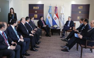 Reuniones bilaterales con Macri y Temer