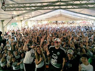 Siguen los festejos con multitudinaria maratón