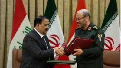 Irán e Irak firman acuerdo militar