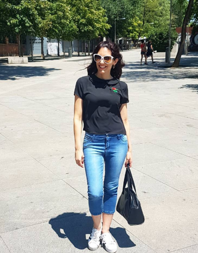 Lucia Sapena Recordó A Sus Padres En España