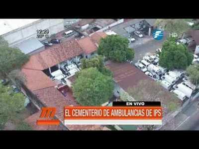 Cementerio de ambulancias de IPS