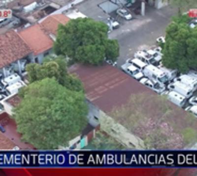 IPS sólo tiene a disposición 19 ambulancias y 45 esperan ser reparadas