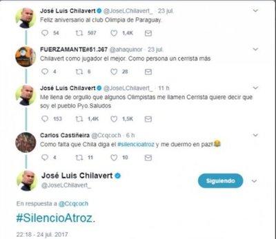 El tweet del Chila que se hizo tendencia en redes