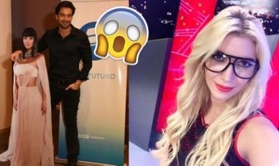 Carmiña 'le robó' un beso a Sergio Marone