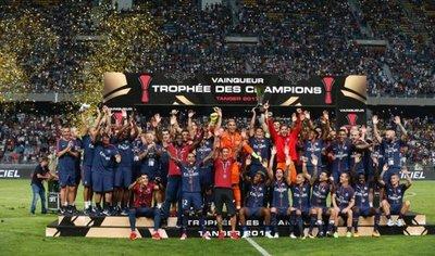 Dani Alves corona al PSG en la Supercopa de Francia