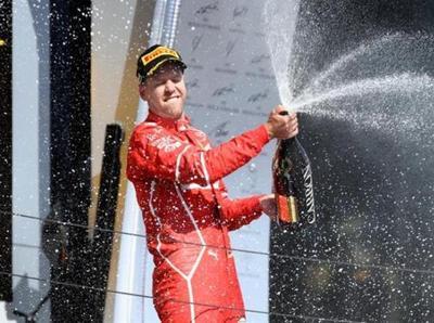 Sebastian Vettel triunfa en el GP de Hungría