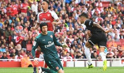 Triunfo de prestigio del Sevilla ante el Arsenal