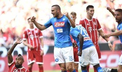 Napoli derrota a un Bayern repleto de suplentes