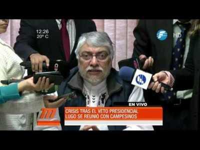 Senadores rechazarían el veto de Cartes, según Fernando Lugo