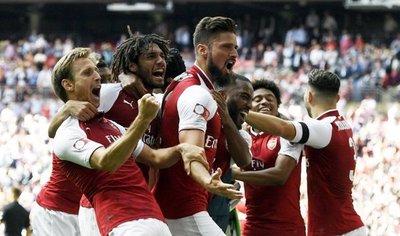 Arsenal es el campeón de la Supercopa
