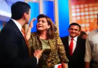 "Santi Peña sobre ataque de Blanca Ovelar: ""Fue una falta de respeto"""
