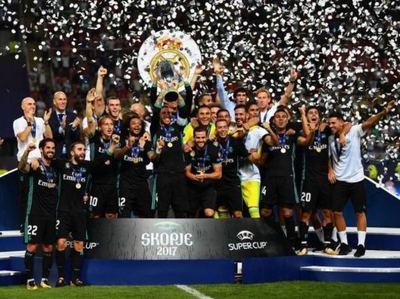 El Real se quedó con la Supercopa de Europa.