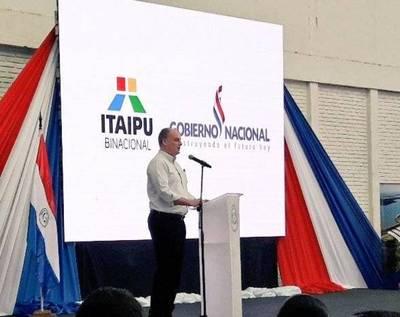 """Itaipú apoya la agricultura mecanizada: """"No es repartija de plata a líderes"""""""