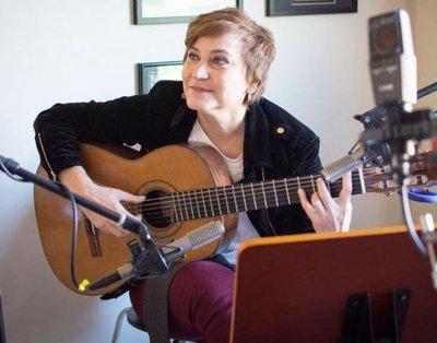 Berta Rojas llevará la música de  Mangoré a miles de alumnos