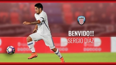 Sergio Díaz es refuerzo del Deportivo Lugo español