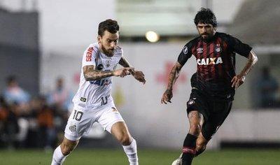 Santos elimina a Paranaense y jugará contra Barcelona en cuartos