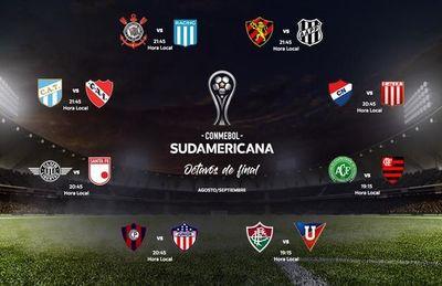 Fechas y horarios para los cruces de Sudamericana