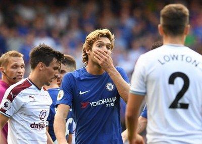 Chelsea debuta con derrota ante el Burnley