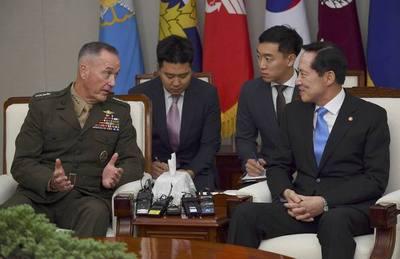 EE.UU. anuncia que usarán la fuerza en Corea del Norte si falla la diplomacia