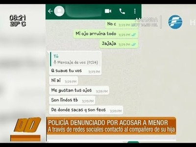Mujer denuncia a un policía por acosar a su hijo de 14 años