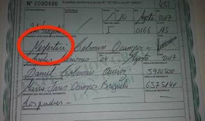 Curiosas excentricidades de padres: la lista de nombres más raros del Paraguay
